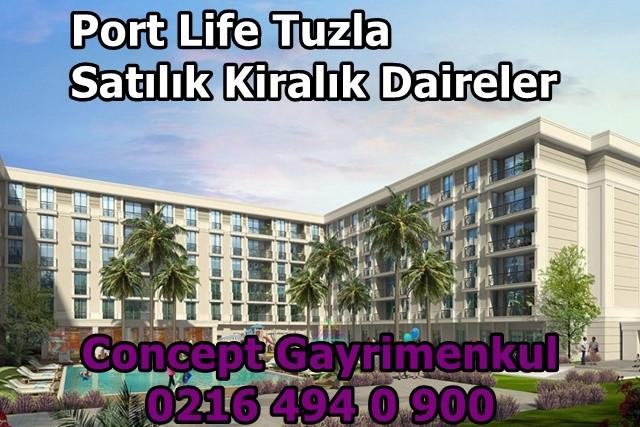 Port life Tuzla kiralık