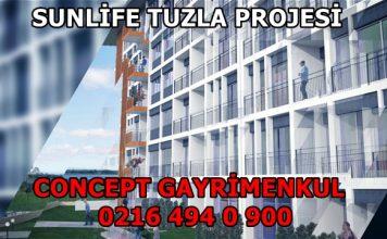 Sunlife Tuzla satılık daire