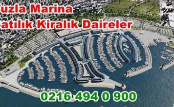 Tuzla Marina Karşısında Lüx Daireler kiralık