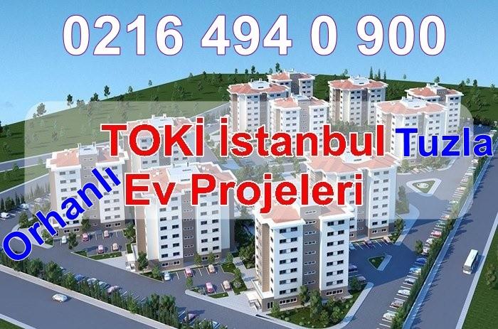 Toki-İstanbul-Tuzla-Orhanlı