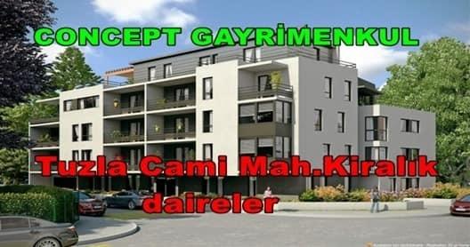 Tuzla Cami mahallesi kiralık daireler