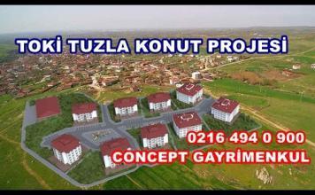 Toki Tuzla satılık daire