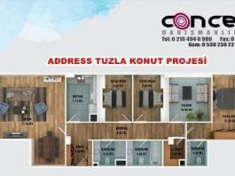 Address Tuzla Satılık Daire ilanları