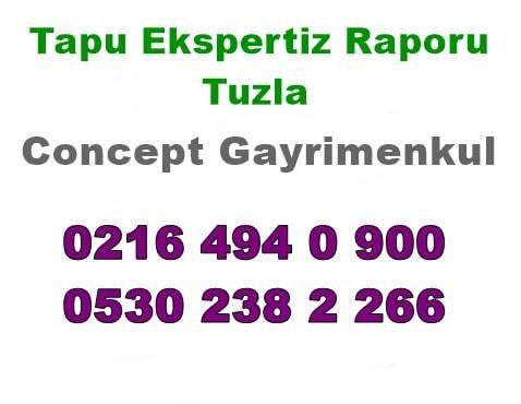 Tapu Eksperi raporu Tuzla
