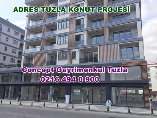 address tuzla konut projesi daire fiyatları