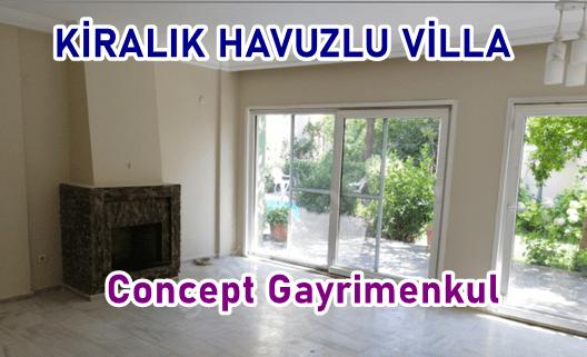 Cami mahallesi Tuzla Kiralık Havuzlu Villa