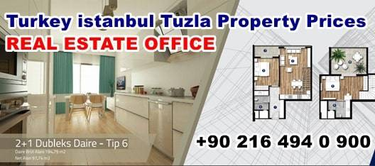 Turkey istanbul Tuzla Property Prices