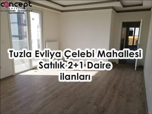 Tuzla Evliya Çelebi Mahallesi Satılık 2+1 Daire